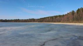 Lac figé