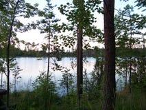 Lac Finlande Images libres de droits