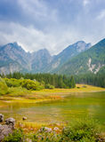Lac Fusine Photos libres de droits