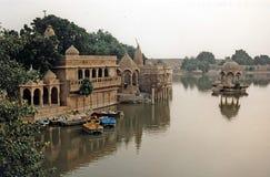 Lac Gadi Sagar images libres de droits