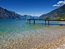 Lac Garda - photographie stock
