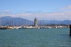 Lac garda de Desenzano photo libre de droits