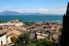 Lac garda de Desenzano image libre de droits