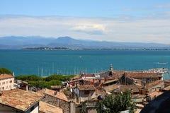 Lac garda de Desenzano photos libres de droits
