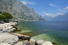 Lac Garda - Italie Images stock