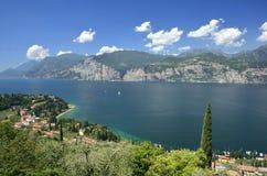 Lac Garda - Italie Photographie stock