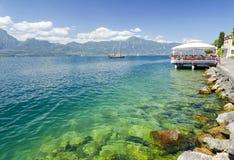 Lac Garda - Italie Images libres de droits