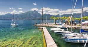 Lac Garda, Italie Images libres de droits