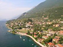Lac Garda, Italie, ville de Malcesine photographie stock