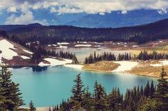 Lac Garibaldi image stock