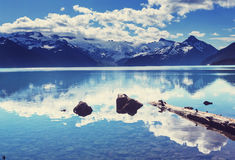 Lac Garibaldi photographie stock