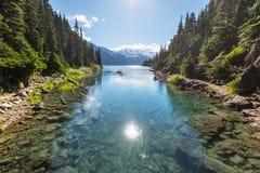 Lac Garibaldi images libres de droits