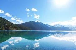 Lac Garibaldi images stock