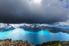 Lac Garibaldi Photo libre de droits