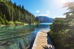Lac Garibaldi photos stock