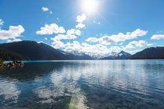 Lac Garibaldi Photo stock