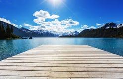Lac Garibaldi Image libre de droits