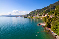 Lac Genève Photo stock