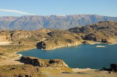 Lac general Carrera. Photographie stock