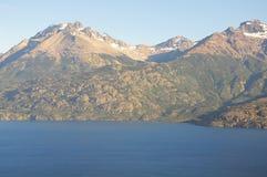 Lac general Carrera. Photos libres de droits