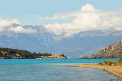 Lac general Carrera. Images stock