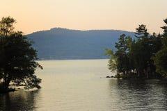 Lac George. Image libre de droits