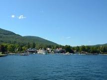 Lac George, l'état de New-York photographie stock libre de droits