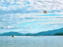 Lac George, New York images stock