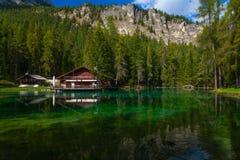 Lac Ghedina, Italie Images libres de droits