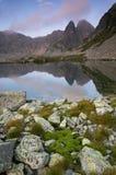 Lac glaciaire Photographie stock
