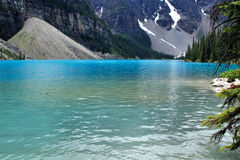 Lac glaciaire Photos stock