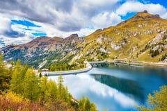 Lac glaciaire magnifique Image stock