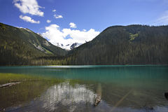 Lac glaciaire mountain Images stock
