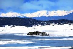 Lac glacial Images libres de droits