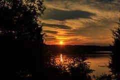 Lac Glendale Image libre de droits
