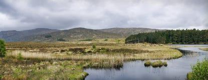 Lac Glenveagh Images stock
