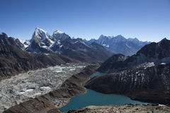 Lac Gokyo Photo stock