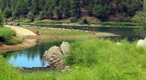 Lac Goldwater, Prescott, AZ photographie stock libre de droits