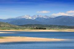 Lac Granby, le Colorado photo stock