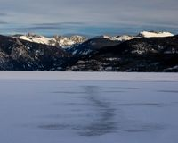 Lac Granby, le Colorado photos stock
