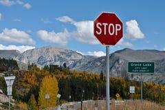 Lac grand, le Colorado Images libres de droits