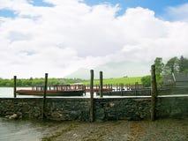 Lac Grasmere dans le secteur anglais de lac Photos libres de droits