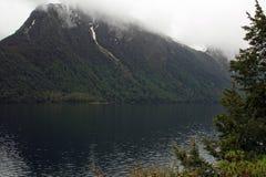 Lac Gunn, île du sud, Nouvelle-Zélande Image stock