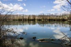 Lac Gurrida Photo libre de droits