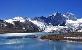 Lac Gurudogmar Images libres de droits