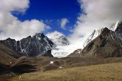 Lac Gurudongmar, Sikkim du nord, Inde Images libres de droits