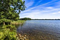 Lac Hancza Le lac le plus profond en Europe centrale et en Europe de l'Est poland Image stock