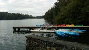 Lac harmonieux photo stock