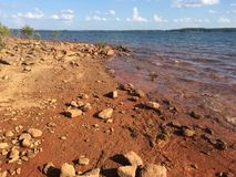 Lac Hartwell Photo libre de droits