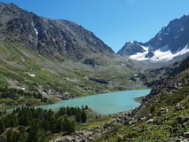 lac Haut-montagneux Kuiguk image libre de droits